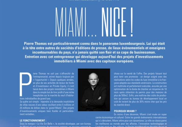 Miami… Nice !